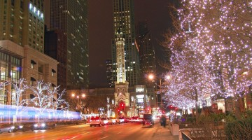 Christmas Shopping Travel Destinations in the Midwest