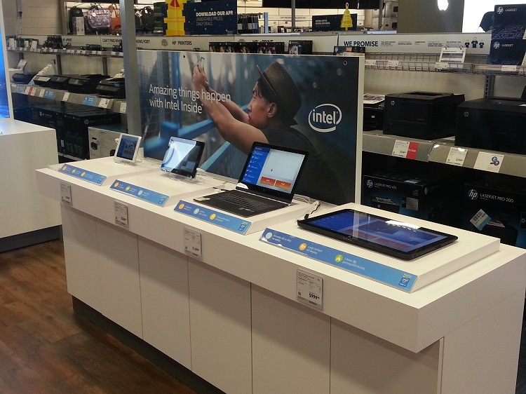 Best Buy Intel Experience