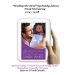 """Sealing the Deal"" by Sandy James Plus Nook Giveaway!"