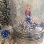 DIY Anna From Frozen Waterless Snow Globe