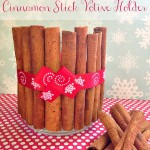 DIY Cinnamon Stick Votive Holder