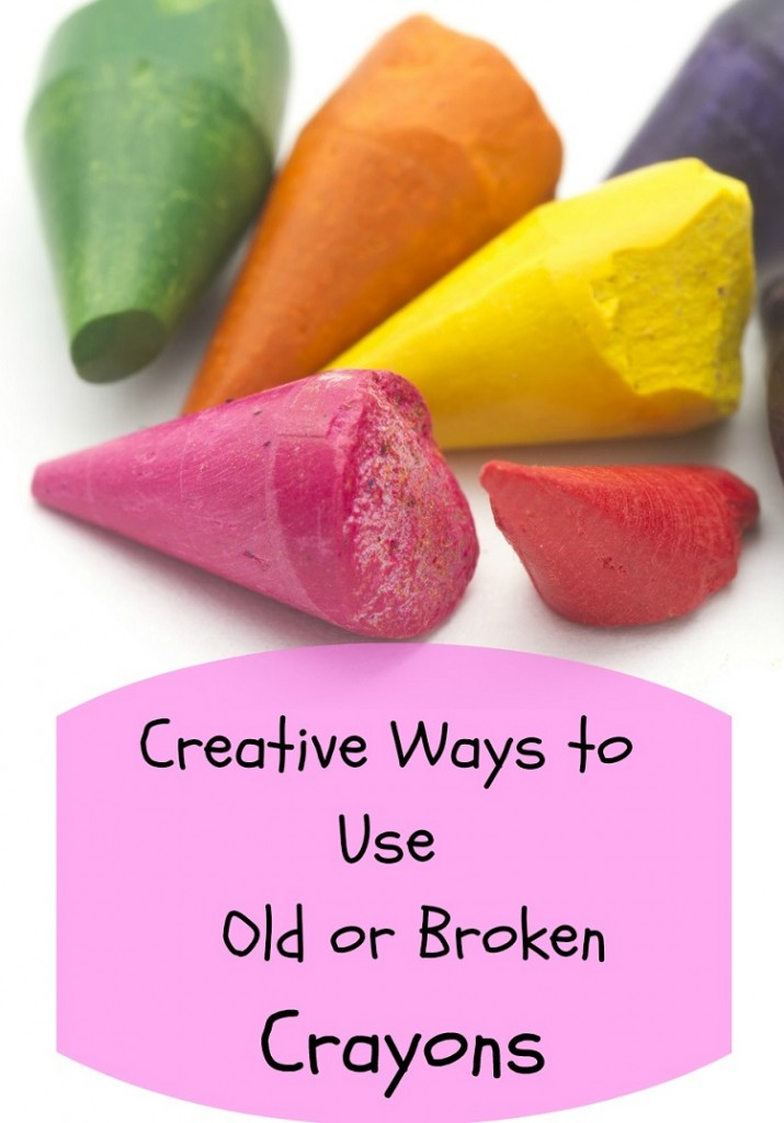 crafts with crayons
