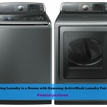 Doing Laundry is a Breeze with Samsung ActiveWash Laundry Pair from Best Buy