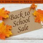 7 Ways to Save Money on Back to School Clothes