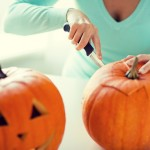 Carving pumpkins safely