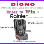 Diono Rainier Carseat +Booster Giveaway