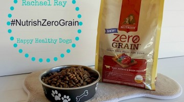 Rachael Ray Nutrish Zero Grain Dog Food Makes for Happy, Healthy Dogs