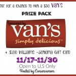 Van's Prize Pack & William Sonoma Giveaway