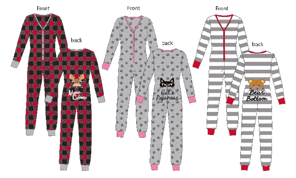 drop a line - Walmart Christmas Pajamas