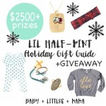 Lil Half-Pint Holiday $2500 in Prizes Giveaway
