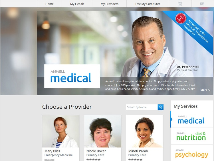 Amwell health care