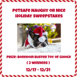 PetSafe Naughty or Nice Holiday Sweepstakes
