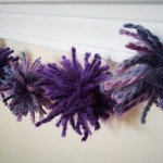 DIY Holiday/Party Pom Pom Garland