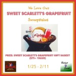 We Love our Grapefruit Sweepstakes