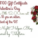 Teleflora $100 Gift Certificate for Valentine's Day Giveaway