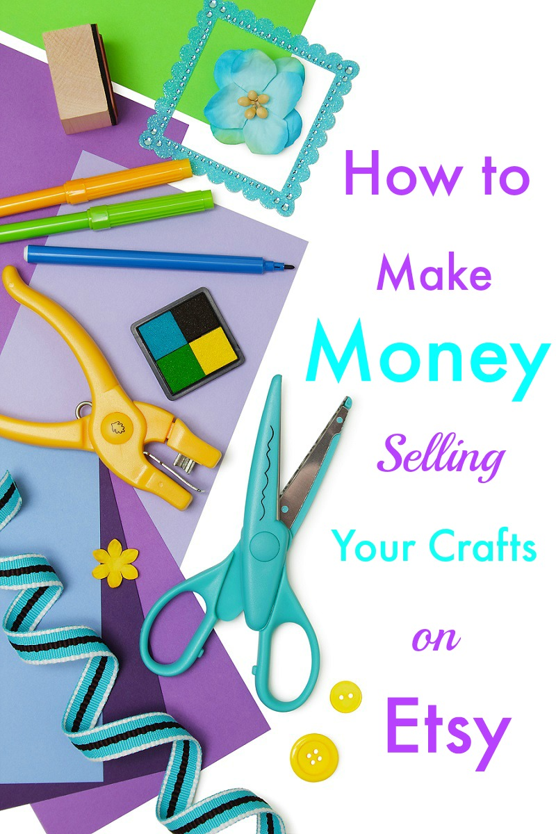 How to make money selling your crafts on etsy for Money making crafts to sell