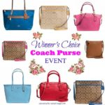 Choose your Coach Purse Giveaway