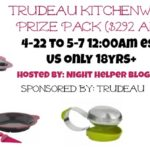 Trudeau Kitchenware Prize Pack Giveaway