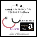 Dare to Be Healthy $100 Amazon Gift Card Giveaway