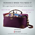 Giveaway: A Hartmann Luxury Duffel Bag Filled with 24 Harlequin Series Titles!