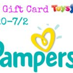 $50 Toys R Us Gift Card + Pampers Diapers Giveaway