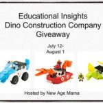 Educational Insights Dino Construction Giveaway
