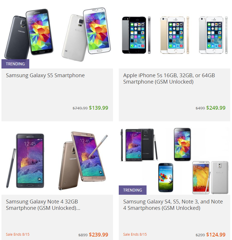 cell phone deals