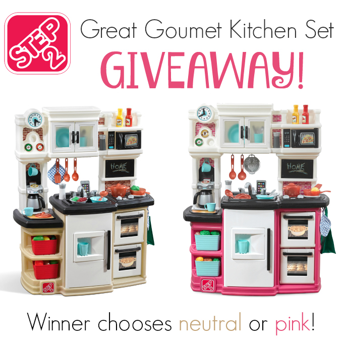 Kitchen Sweepstakes: Step2 Great Gourmet Kitchen Set Giveaway