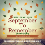 An Unbe-leaf-able September to Remember Giveaway Hop