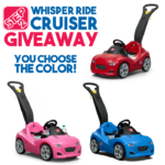 Step2 Whisper Ride Cruiser Giveaway