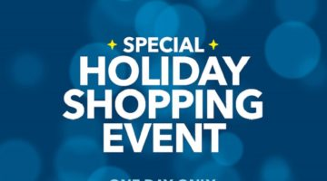 Best Buy Special One Day Holiday Shopping Event November 5th