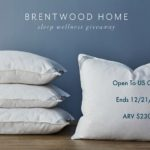 Sweet Dreams with Brentwood Home Pillows ~ Review and Giveaway