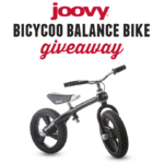Joovy Bicycoo Balance Bike Giveaway