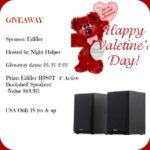 Edifier R980T 4″ Active Bookshelf Speakers Giveaway