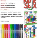 KwiK Stix Solid Tempera Paint Giveaway