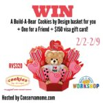 Build A Bear +Cookies By Design Giveaway