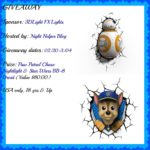 It's A 3DLight FX Paw Patrol Chase Nightlight Or Star Wars BB-8 Droid 3DLight FX Light Giveaway