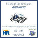 Steaming the Mess Away Giveaway