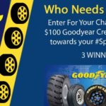 $100 Goodyear Auto Service GC Giveaway ~ 3 Winners!