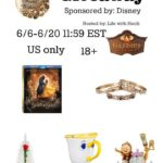BEAUTY AND THE BEAST EXCLUSIVE GIVEAWAY