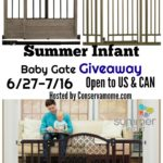 #Beautifulboundaries Summer Infant Baby Gate Giveaway