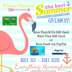 Best Summer Fun Giveaway