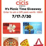 Cicis It's Picnic Time Giveaway