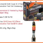 ArmorAll Grill Cover & Tool Set Giveaway