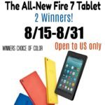 Fire Tablet Giveaway