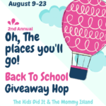 Oh! The Places You'll Go BTS Giveaway Hop