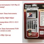 Texas Instruments TI-84 Plus CE! Giveaway!
