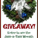 Jazz-a-Tazz Christmas Forest Wreath Giveaway