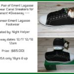 Emeril Lagasse Footwear Canal Sneakers for Women #Giveaway