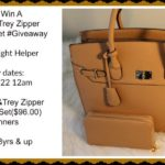 Sophie and Trey Zipper Tote & Wallet Set Giveaway